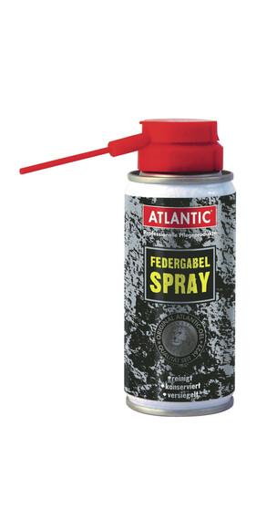 Atlantic Spray do amortyzatorów  Spray z rurką 100 ml czarny